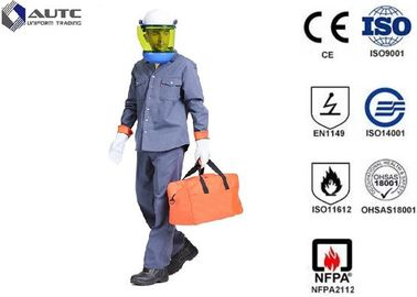 8 Cal PPE Safety Wear Uniforms ASTM F2621 Anti Fire Category 1 Oil Resistant