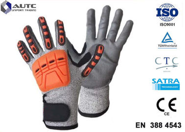 Prosafe Hand Protection Gloves , Nitrile Protective Gloves Shock Absorption