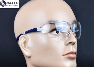 Protective PPE Safety Goggles , Site Safety Glasses Chemistry Eyewear For Dust