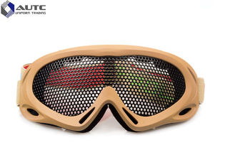 Strechable Tactical Military Goggles , Tactical Shooting Glasses Air Ventilation