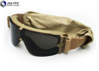 Polarized Tactical Military Goggles , Military Issue Prescription Glasses  TR90 Hunting